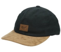Curved Suede Cap black
