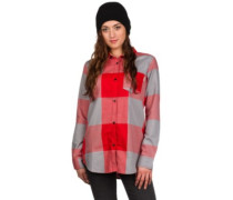 Grace Tech Flannel Shirt LS coral large buffalo