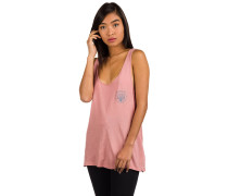 Mod Perfect Tank Top rust pink