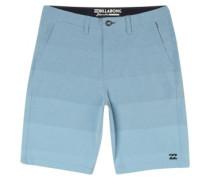 Crossfire X Faderade Shorts blue