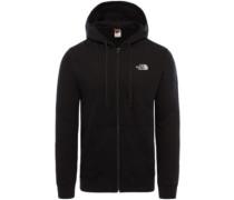 Open Gate Hooded Fleece Jacket high rise grey