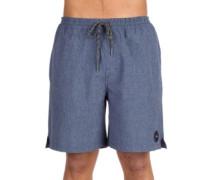 Marled 2 Elastic Boardshorts navy blue