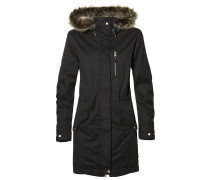 Relaxed Parka black out