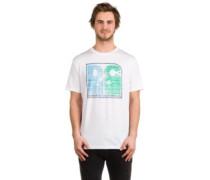 Sunset Palms T-Shirt snow white