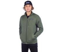 Better Sweater Fleece Jacket industrial green