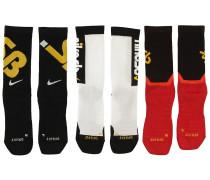 Everyday Max Lightweight 3Pk Socks multi color