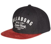 Sama Snapback Cap black heather