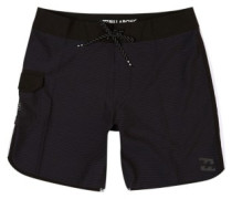 "73 X Short 17"" Boardshorts black"