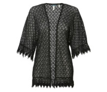 Lace Cardigan black out