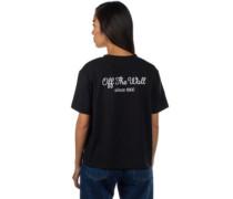 Lorraine Boxy T-Shirt black