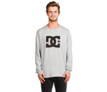Star T-Shirt LS grey heather