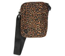 Flight Nylon Leopard Backpack black