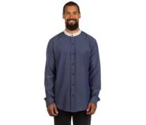 Sanford Woven Shirt LS indigo