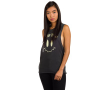 Surf Trip Biker Tank Top anthracite