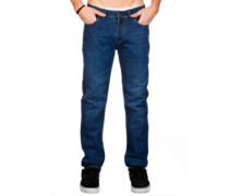Skin Stretch Jeans mid blue 2