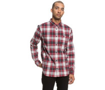 Northboat Shirt LS tango red