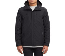 Stone Storm Lined Jacket black