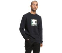 Camo Boxing Crew Sweater black