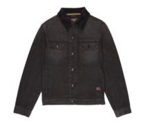 Barlow Trucker Jacket washed black