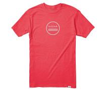 Waves III T-Shirt red heather