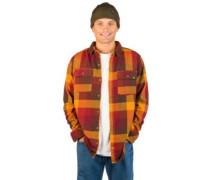 Willard Woven Checker Shirt navy