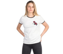 Keep Goin Ringer T-Shirt white