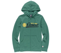 Signature Zip Hoodie sequoia green