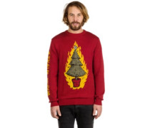 Warm Wishes Pullover deep red