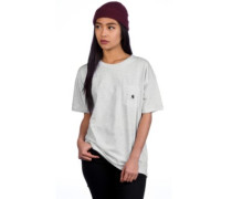 Carrie Pocket T-Shirt ash heather white