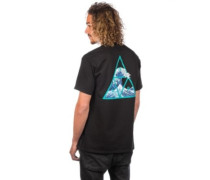 High Tide Triangle T-Shirt black