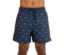 Palmories Layback 16 Boardshorts navy