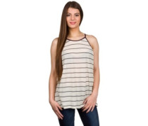 Lawrence Tank Top cream caviar stripe red t