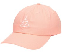 Triple Triangle Curved Visor Cap coral haze