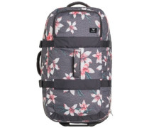 In The Clouds 2 Travelbag charcoal heather flower f