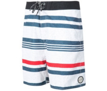 "Layday Seagul 19"" Boardshorts white"