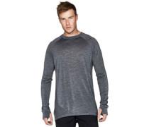 Merino Huxley T-Shirt LS smoke