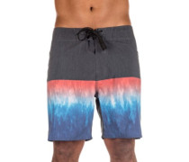 "Mirage Wilko Blocker 18"" Boardshorts blue"
