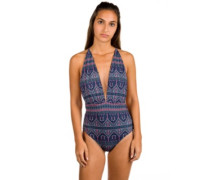 Sun,Surf And One Piece Swimsuit china blue new maiden swi