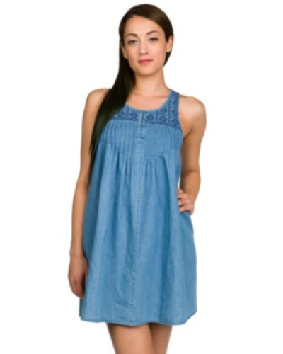 Cham Hey Dress cloud blue