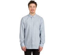 Oxford Stretch Shirt LS wrecked indigo