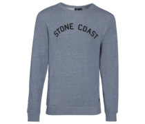 Edwart Crew Sweater grey blue