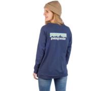 Pastel P-6 Logo Responsibili Long Sleeve dolomite blue