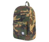 Daypack Backpack woodland camo