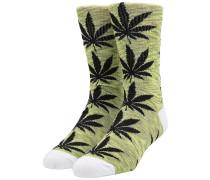 Plantlife Melange Socks green