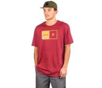 Halfer Stripe T-Shirt cedar