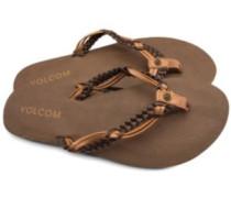 Tipsy Sandals Women brown combo