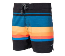 "Retro Sector 16"" Boardshorts black"
