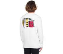 Circa 66 Crew Sweater white