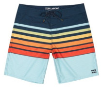 "All Day Og Stripe 18"" Boardshorts orange"