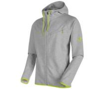 Logo Ml Hooded Fleece Jacket sprout